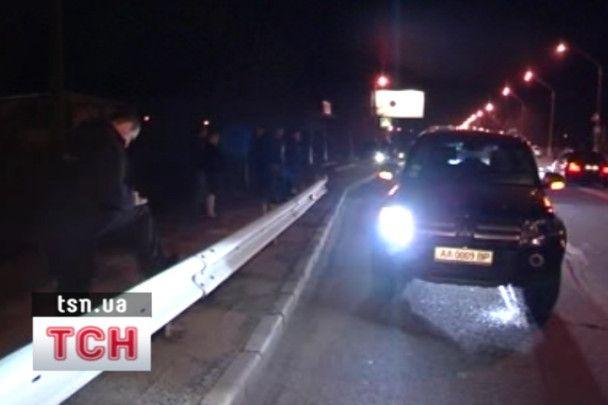 Омельченко вперше заговорив після аварії. Ексклюзивне відео ТСН