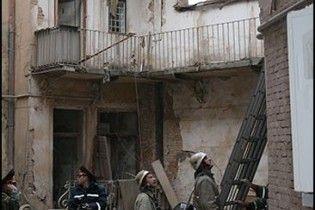 У центрі Харкова обвалився будинок