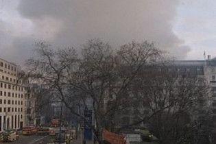 У центрі Лондона загорівся ресторан