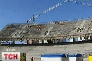 """Перший матч на """"Олімпійському"""" зіграють у вересні 2011 року"""