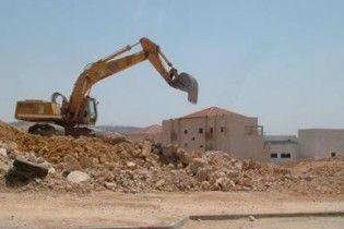 Ізраїль оголосив про велике будівництво на окупованих територіях