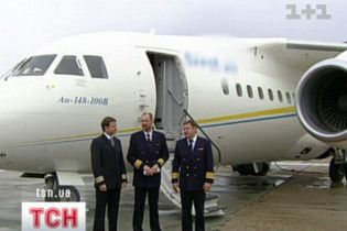 Україна презентувала новий пасажирський літак Ан-158
