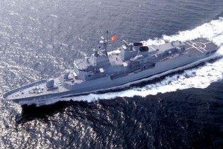 Військові кораблів Туреччини увійшли в порт Севастополя