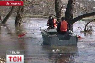У п'яти областях України почалася повінь