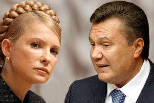 """Тимошенко пригрозила Януковичу бойкотувати вибори за """"рейдерство"""""""