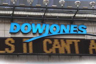 Індекс Dow Jones вперше за три місяці впав нижче 10000 пунктів