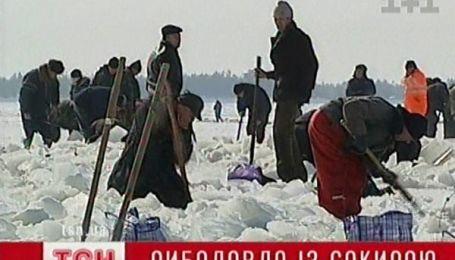 На Київському морі масове паломництво