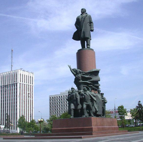 Пам'ятник Леніну в Москві. Фото content.ru