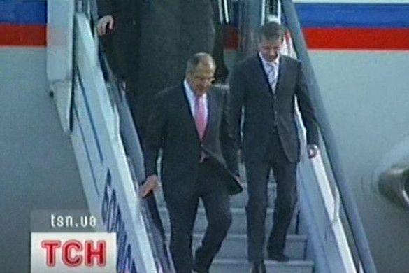 Сергій Лавров прибув до Києва