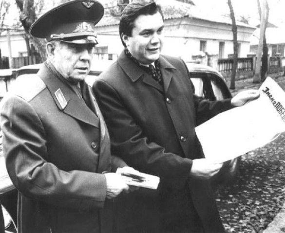 Береговий, Янукович