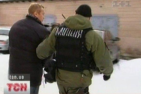 Затриманий злочинець