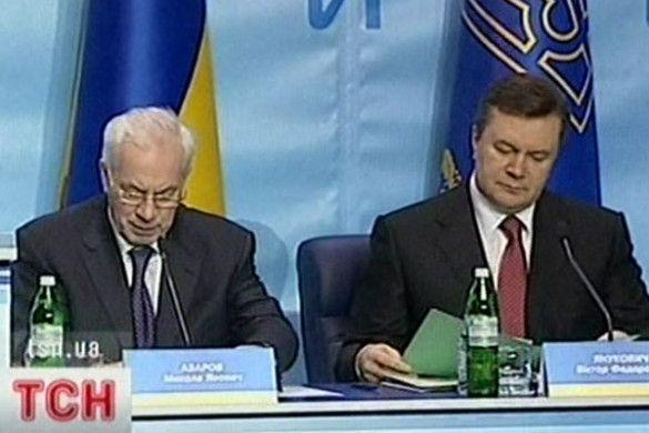 Віктор Янукович та Микола Азаров