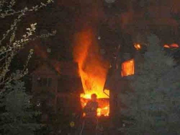 Спалений будинок Бакієва