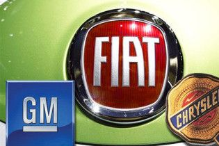 Американські Chrysler і GM врятує італійський Fiat