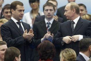 """Мєдвєдєв та Путін грають у """"хорошого та поганого поліцейського"""""""