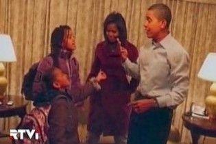 Обама зізнався, що збрехав своїм донькам