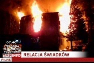 У Польщі під час пожежі в домі для безпритульних загинуло 18 людей
