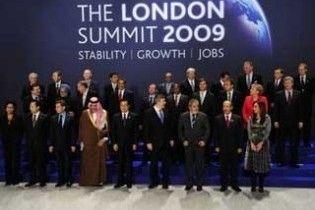 """""""Велика двадцятка"""" виділить на подолання кризи трильйони доларів"""