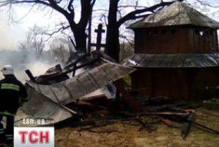 На Львівщині після Великодньої служби згоріла церква