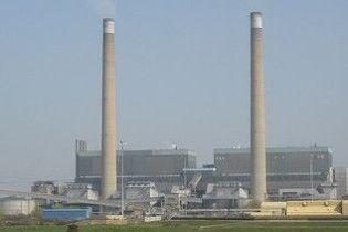 Біля Лондона горить електростанція