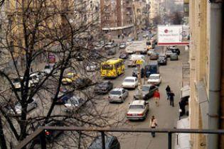Київрада зафіксувала зупинки маршруток