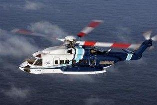 Біля берегів Канади впав вертоліт з 18 пасажирами