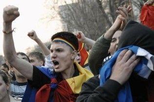 Сім підлітків отруїлися газом на демонстрації у Молдові