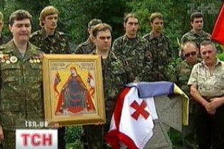 УНА-УНСО вшанувала своїх загиблих у війні в Грузії
