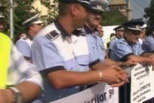 У Бухаресті вийшли на страйк декілька сотень поліцейських