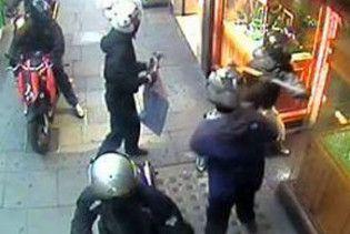 Лондонський ювелірний магазин пограбувала банда мотоциклістів