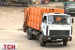 У Кременчуку сміттєвози обладнали GPS-навігаторами