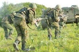 Російський солдат застрелився холостим патроном