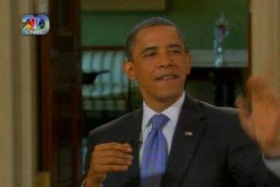 """Барак Обама """"розпустив руки"""" під час інтерв'ю"""