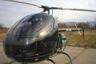 На Полтавщині розбився вертоліт. Пілот та пасажир загинули