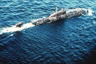 Російські субмарини патрулюють східне узбережжя США