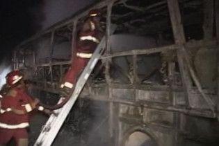15 людей згоріли живцем в автобусі в Перу
