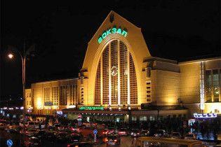 На центральному вокзалі Києва горів потяг