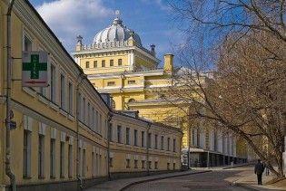 У центрі Москви загорілася синагога