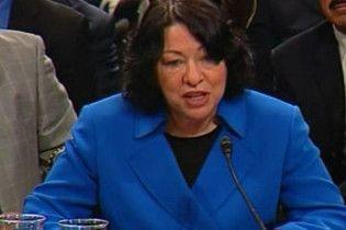 Латиноамериканка вперше стала суддею Верховного суду США