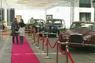 В Ірані відбувся фестиваль класичних автомобілів