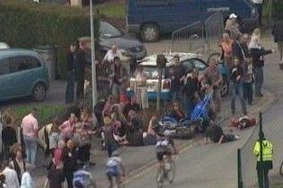 Мотоцикліст врізався у натовп під час велогонки у Франції