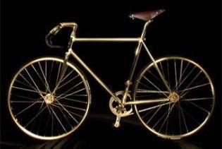 У Лондоні купили перший найдорожчий велосипед з золота