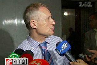 Суркіс: гравці збірної України мріяли про відпочинок