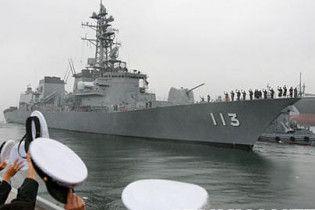 Російські прикордонники обстріляли японські шхуни