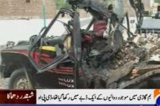 Щонайменше шестеро осіб загинули при вибуху в Пакистані