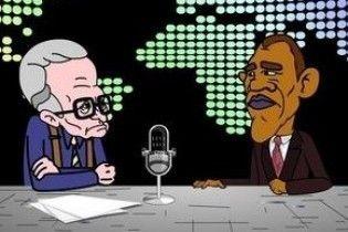 Українці презентували мультфільм про Барака Обаму
