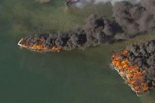П'ять кораблів згоріли поблизу Сіднея
