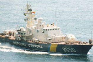 Українські прикордонники затримали два турецьких судна