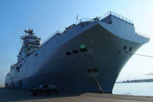 Росія купує великий військовий корабель у Франції
