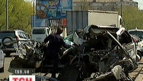 Страшна аварія у центрі Києва